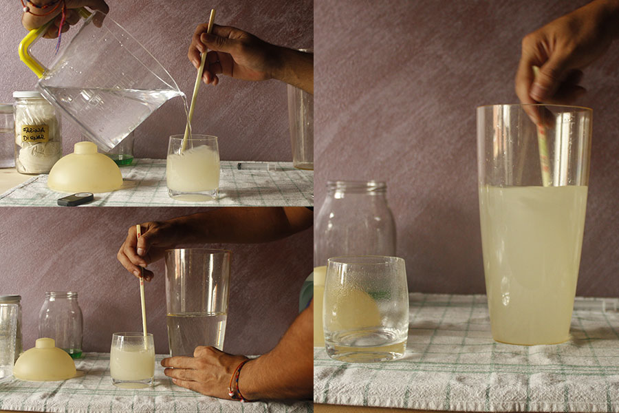 mixing_guar+water+water